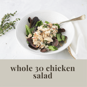 whole 30 chicken salad