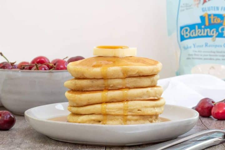 best gluten free pancakes with maple syrup