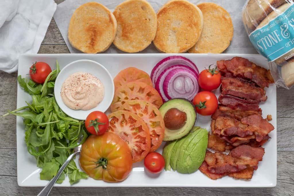 ultimate BLT platter