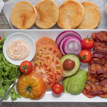 BLT platter