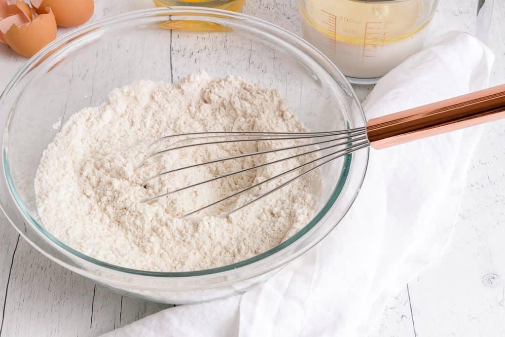 gluten free waffles dry ingredients
